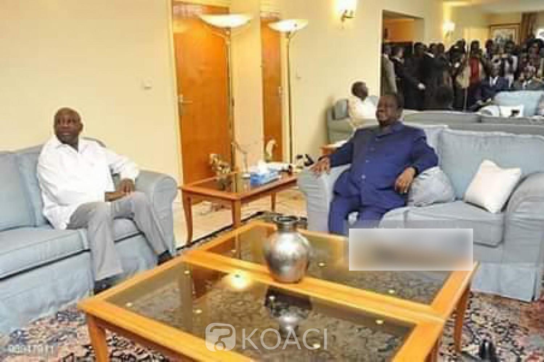 Côte d'Ivoire : Gbagbo et Bédié se sont rencontrés ce lundi à Bruxelles, pas d'accord politique mais une entente sur des constats
