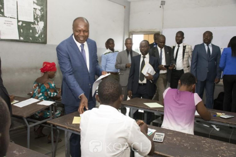 Côte d'Ivoire: BTS 2019, plus de 50.000 candidats à l'assaut des épreuves écrites invités à se détourner de la tricherie