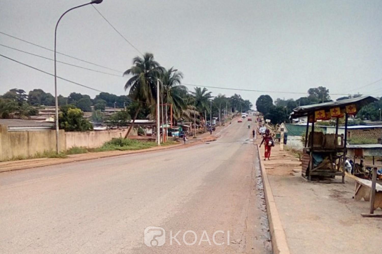 Côte d'Ivoire: Bouaké, froissant la décision de Tuo Fozié, la police exige tous les documents des motos dans la ville