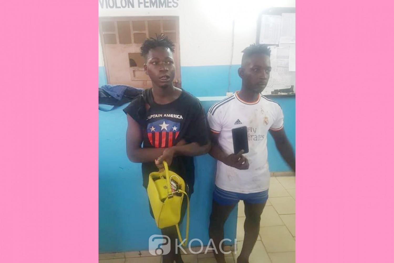 Côte d'Ivoire: Deux individus pris en flagrant délit d'agression à Abobo