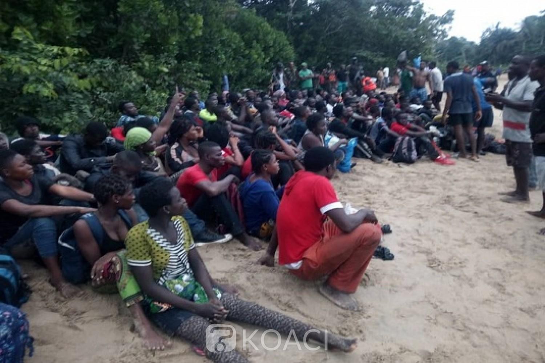 Cameroun: 106 migrants en provenance d'Afrique de l'Ouest secourus par l'armée au large des côtes camerounaises