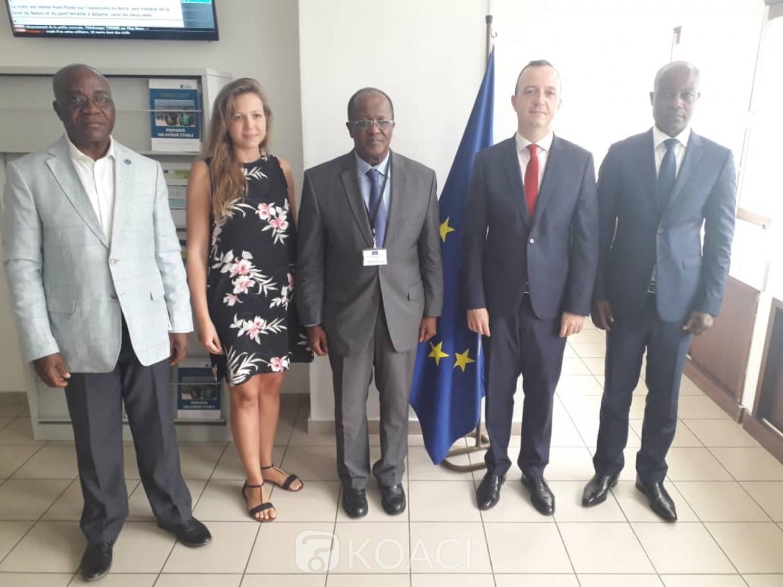 Côte d'Ivoire : Malgré l'adoption de la loi sur la CEI, Ouégnin reçu encore à l'UE pour parler de la réforme de l'institution