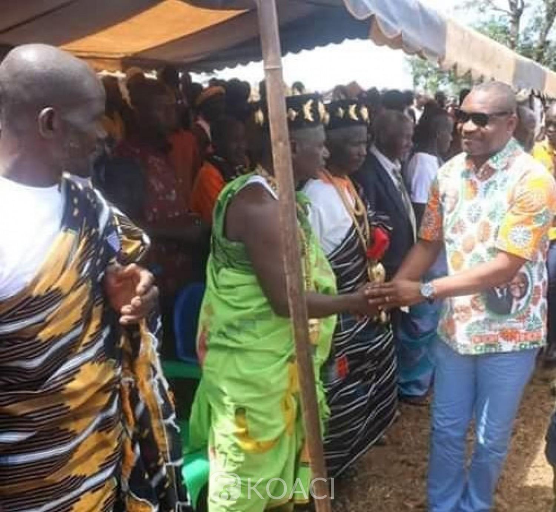 Côte d'Ivoire : Louis Habonouan à l'assaut des populations de la Nawa pour une victoire du RHDP au 1er tour en 2020