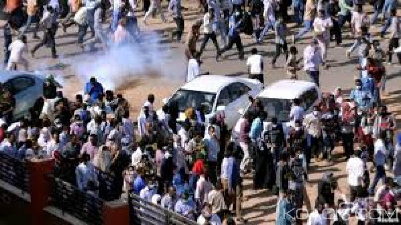 Soudan: Khartoum, 07 manifestants tués par balles et181 blessés lors d'un nouveau meeting