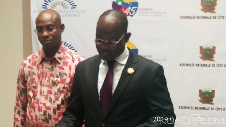 Côte d'Ivoire : En prélude à la 45ème APF, cinq députés assignent le Président Soumahoro en justice pour avoir modifier la composition de la section ivoirienne, Dah Sansan se défend