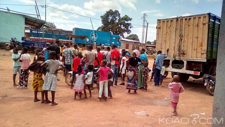 Côte d'Ivoire : Bouaké, sans permis de conduire et manquant d'écraser un motocycliste   un chauffard copieusement tabassé
