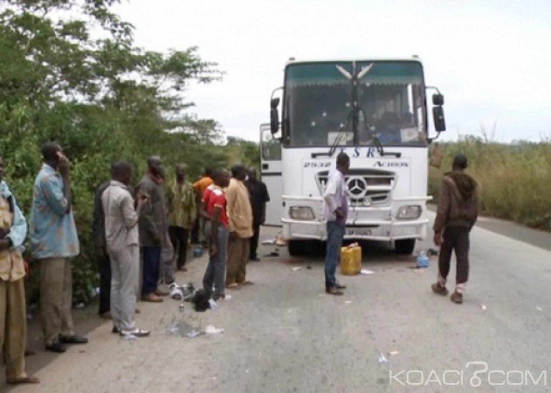 Côte d'Ivoire : Des coupeurs de route sévissent sur l'axe Zoukougbeu-Daloa, un car de transport braqué