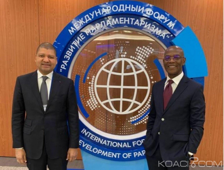 Côte d'Ivoire : Ce que Jean Louis Billon et Mamadou  Koulibaly sont allés  faire en Russie