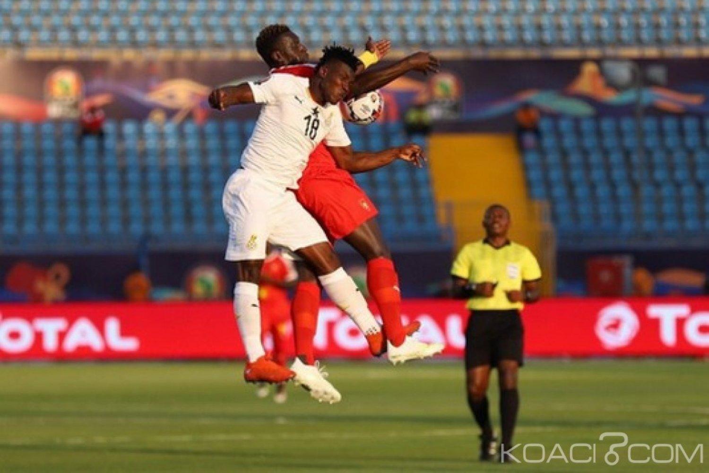 Egypte : CAN 2019, Ghana Guinée-Bissau 2-0, les Black Stars en 8e de finale