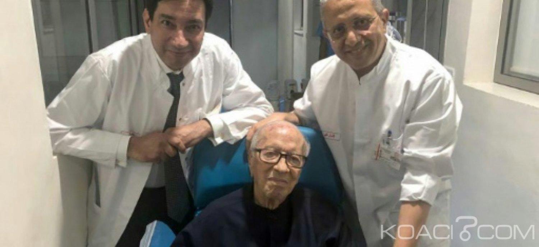 Tunisie: Le Président «hors de danger» a quitté l' hôpital militaire