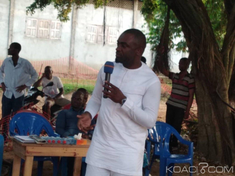Côte d'Ivoire : Depuis Yopougon, Blaise Lasm de la JFPI en soutien à Valentin Kouassi et martèle « il ne faut pas ils vont nous pousser à bout, il va arriver un moment où on va se laisser »