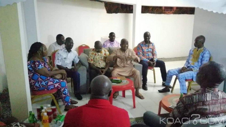 Côte d'Ivoire : Recevant les jeunes du FPI « Gbagbo ou rien », Emile Guirieoulou leur demande de déblayer le terrain pour accueillir Laurent Gbagbo