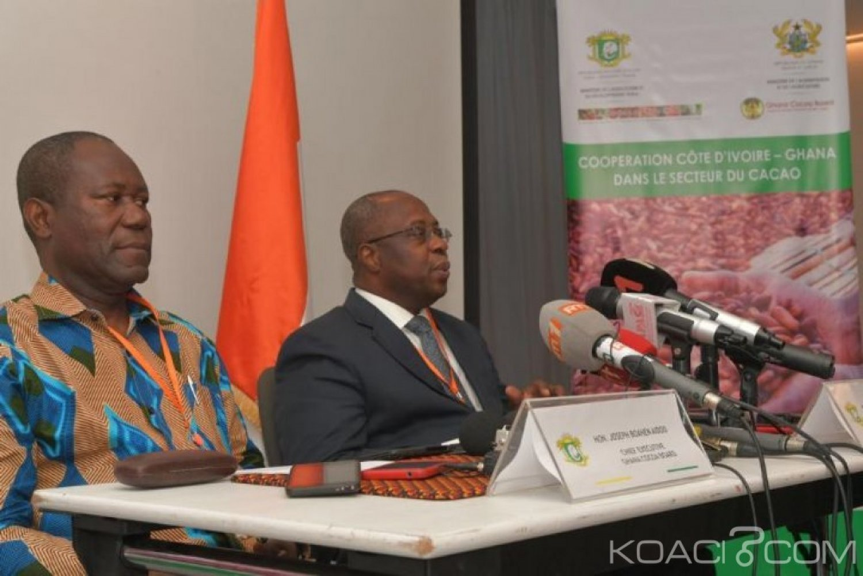 Côte d'Ivoire-Ghana : Prix plancher du cacao, la réunion d'Abidjan accouche d'une souris