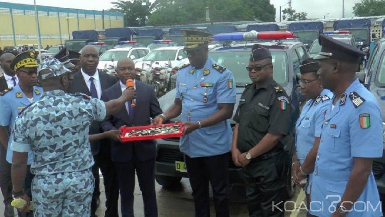 Côte d'Ivoire : Pour accroitre ses capacités opérationnelles, près d'une centaine de véhicules remis à la police