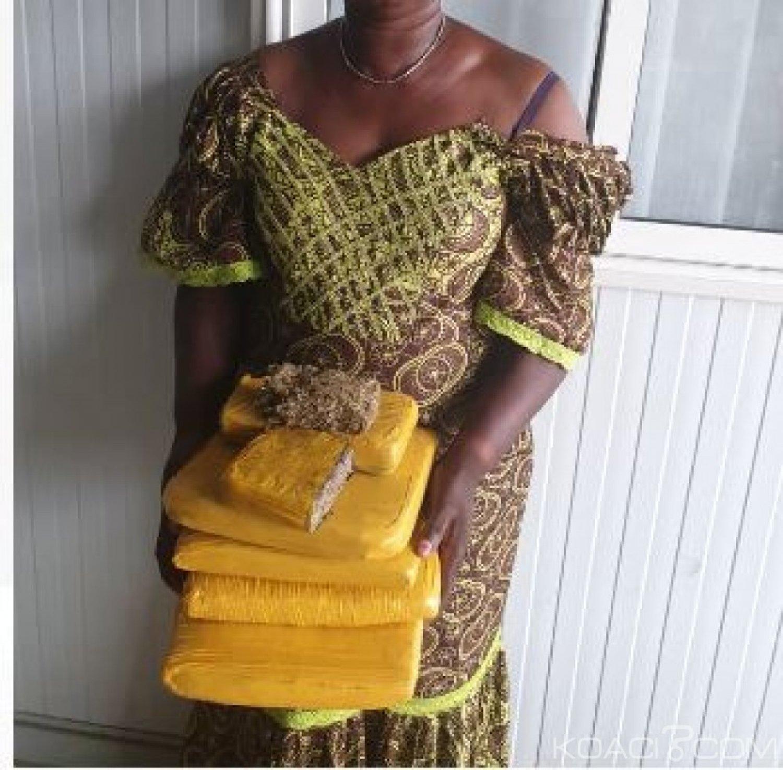 Côte d'Ivoire : Une trafiquante  présumée de drogue mise interpellée à Abobo-Gare