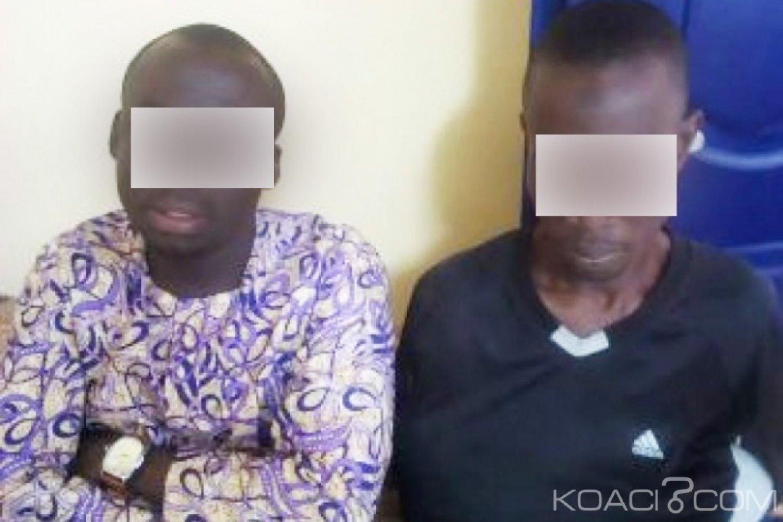 Côte d'Ivoire : Deux individus interpellés en  possession du corps d'un mort-né interpellé