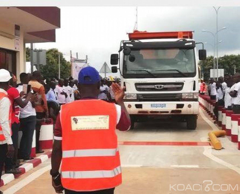 Côte d'Ivoire : La neuvième station de pesage réalisée à Abengourou pour un coût d'environ 400 millions FCFA