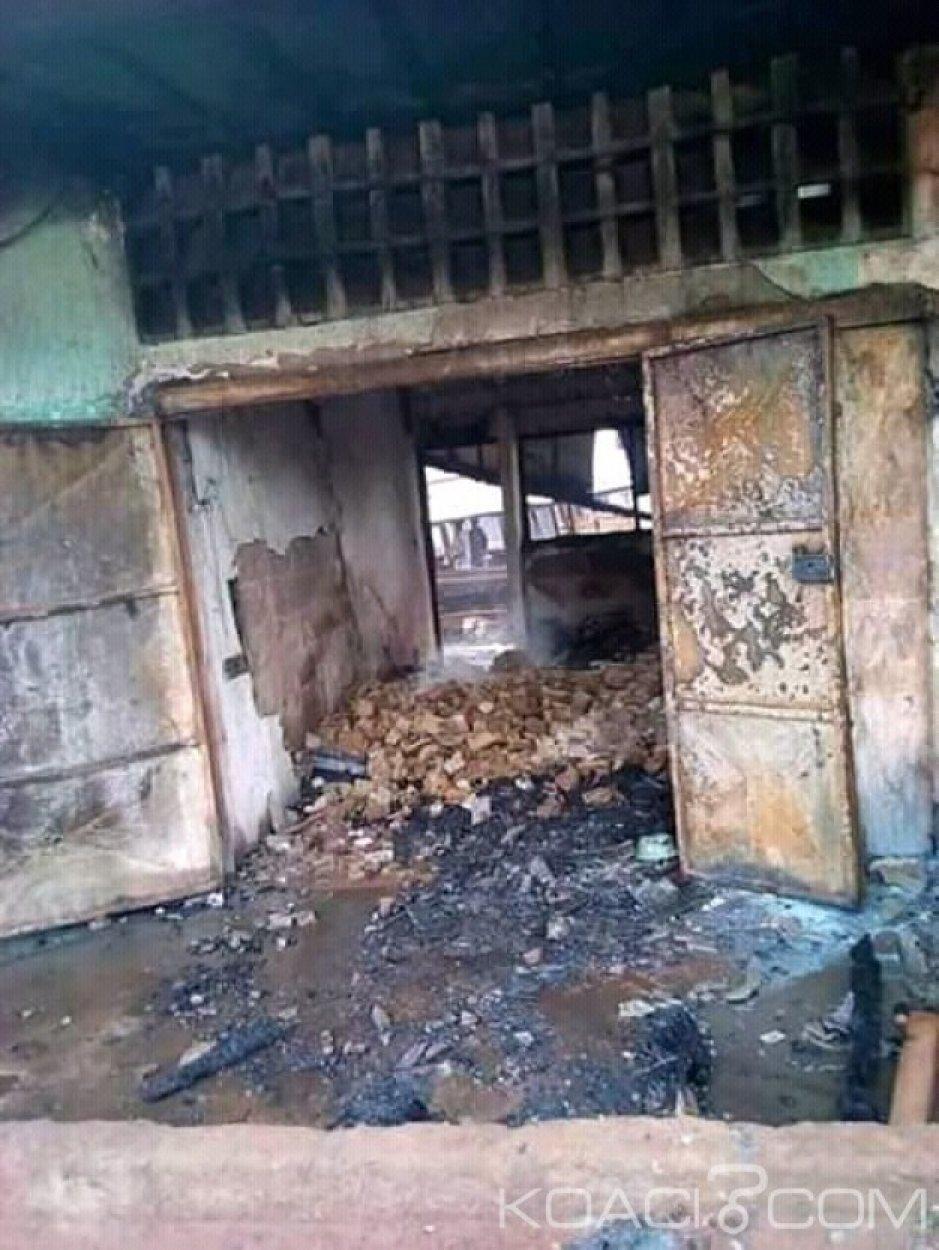 Côte d'Ivoire : Ouellé, au marché de la localité,  4 magasins partent en fumée