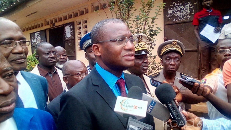 Côte d'Ivoire : Bouaké, face à Sidi Touré au lancement du BAC,  un DRENET révèle, « sur les copies désormais tout est codé »