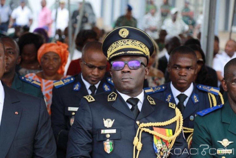 Côte d'Ivoire : Le général Doumbia réceptionnant des véhicules remis aux FACI « Nous avons le devoir de défendre chaque mètre carré du territoire »