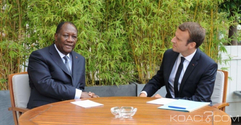 Côte d'Ivoire-France: Nouveau tête-à-tête entre Ouattara et Macron ce mardi à l'Elysée