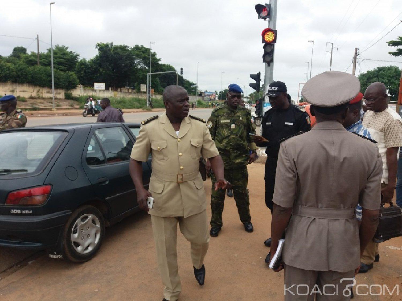 Côte d'Ivoire : Bouaké, après avoir «grillé»  un feu rouge,   un Massa poursuivi et rattrapé par Tuo Fozié