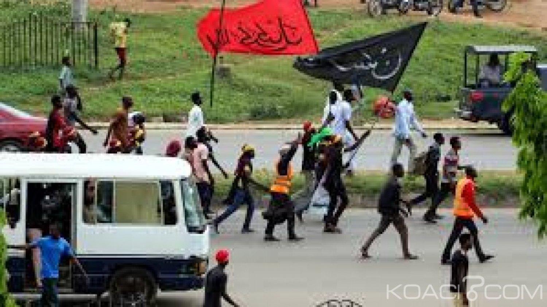 Nigeria: Abuja, une manifestation de chiites dégénère près de l'assemblée nationale