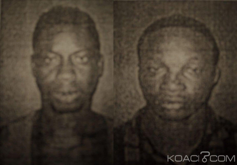 Côte d'Ivoire : Deux individus  activement recherchés par les services de police