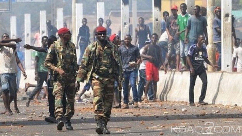 Guinée: Une loi autorise les gendarmes à tirer en cas d'obstacle