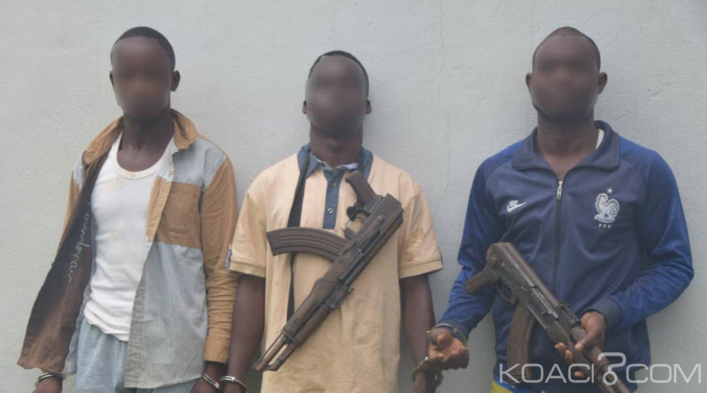 Côte d'Ivoire : Gagnoa, trois coupeurs de route présumés arrêtés