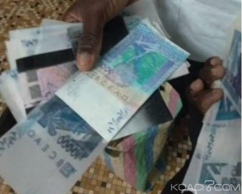 Côte d'Ivoire : Yamoussoukro,  un individu interpellé en possession de près  de 60 millions FCFA  de faux billets