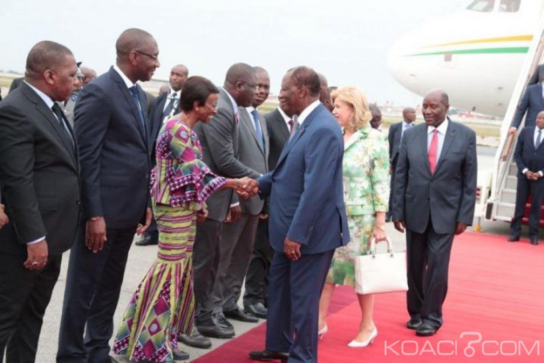 Côte d'Ivoire : Ouattara de retour au pays révèle le contenu de son entretien  avec Macron