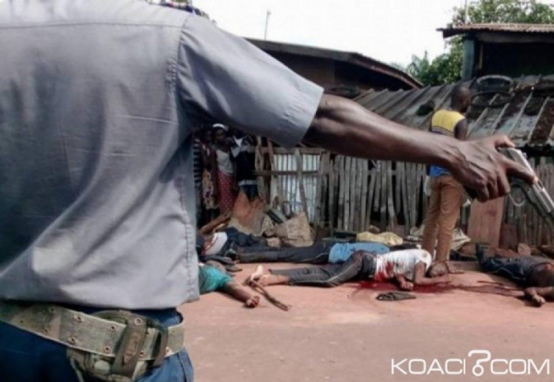Côte d'Ivoire : Le procès des gendarmes qui ont commis une bavure sur des agents des pompes funèbres à Arrah débute ce vendredi à l'état-major