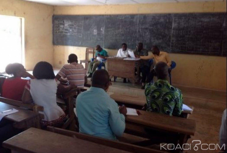 Côte d'Ivoire : Baccalauréat 2019, une dizaine de  candidats  pris en flagrants délit de tricherie pourraient ne plus prendre part à  l'examen pour cinq ans