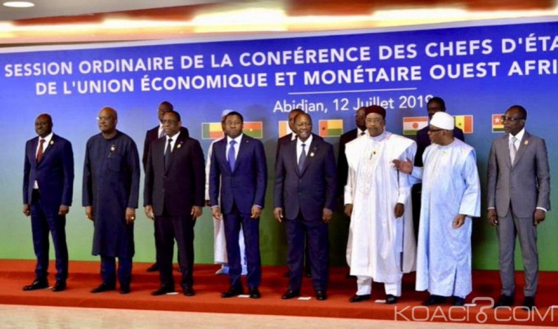 Côte d'Ivoire : UEMOA, Ouattara se félicite des performances réalisées par l'Union et appelle les états membres à accroître leur coopération sécuritaire et mutualiser les moyens de défense