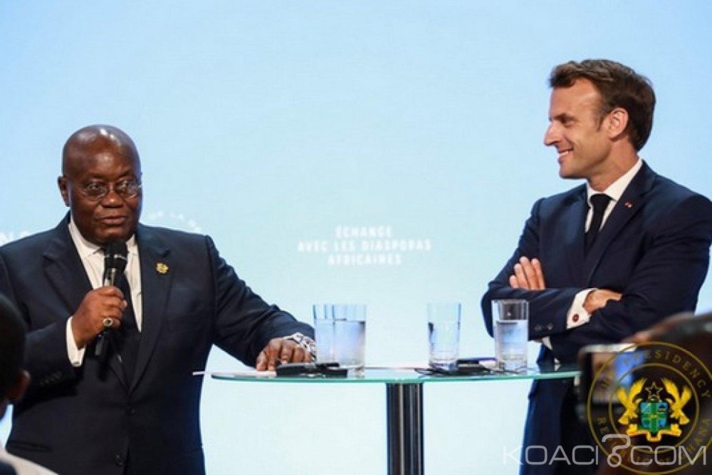 Ghana-France : Akufo-Addo chez Macron, avenir du F CFA et garanties aux investisseurs évoqués