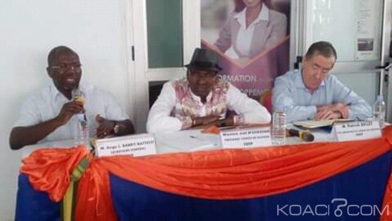 Côte d'Ivoire : Rencontrant ses collaborateurs dans le Gbêkê,  Joël N'Guessan annonce la mise en place d'une direction du FDFP à Bouaké
