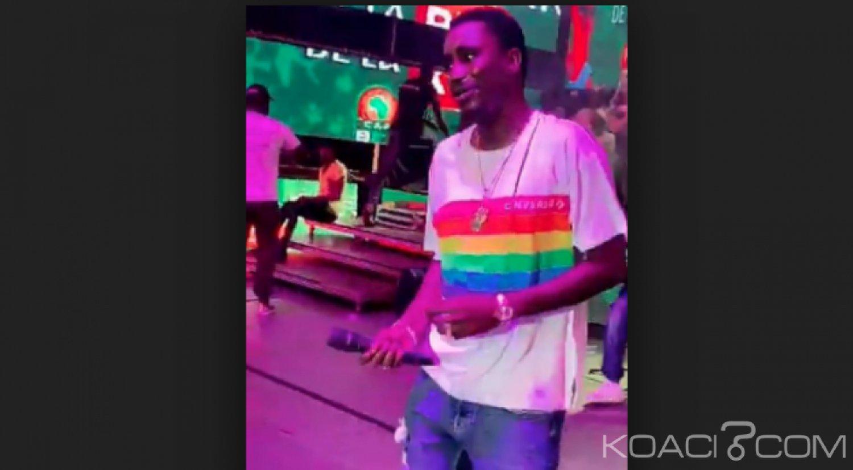 Sénégal: Le chanteur Wally Seck crée encore la polémique avec un T-shirt gay et décide de poursuivre un imam qui l'a critiqué