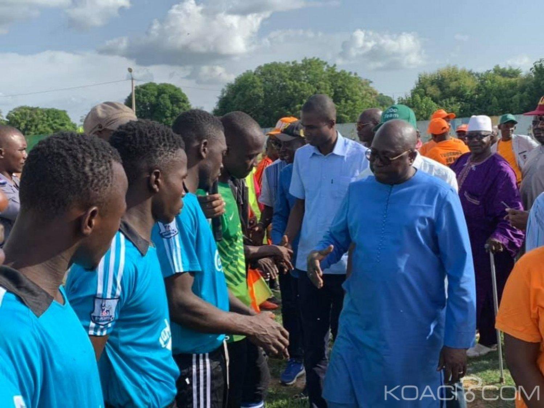 Côte d'Ivoire : Tournoi de fraternité, Ferké vibre au rythme du trophée du ministre Tené Birahima Ouattara
