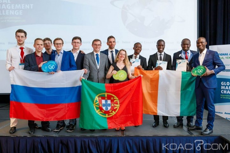 Côte d'Ivoire : Coupe du monde de Management et de Gestion d'Entreprise, les ivoiriens classés 3ème après le Portugal et la Russie