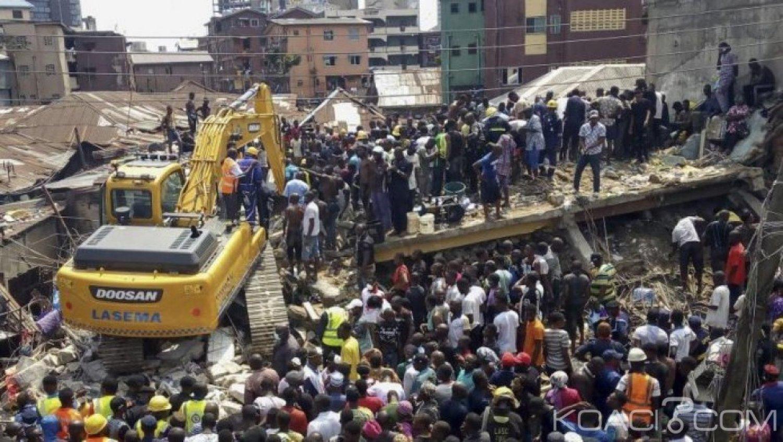 Nigeria :13 morts dans l'effondrement d'un immeuble de trois étages à Jos