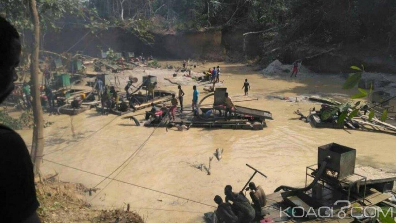 Côte d'Ivoire : Tabou, des orpailleurs clandestins ont tenté de corrompre les forces de l'ordre pour exploiter les ressources