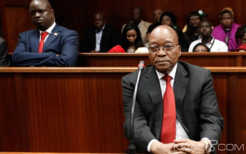 Afrique du Sud: Zuma dit avoir reçu de nouvelles menaces de mort