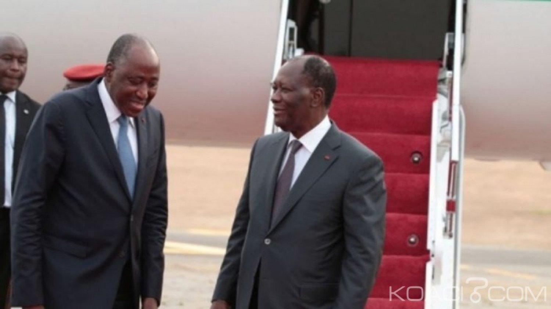 Côte d'Ivoire : Nouvelle configuration du RHDP, Amadou Gon dans le costume de dauphin de Ouattara