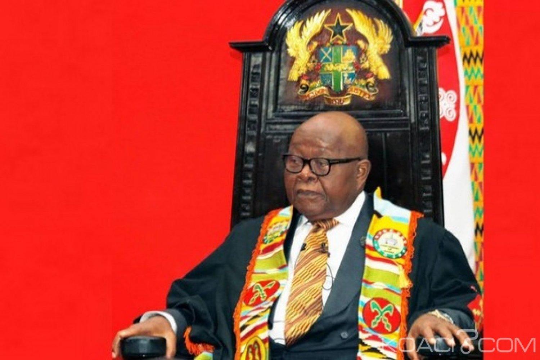 Ghana : Prof Mike Oquaye, Président par intérim du Ghana
