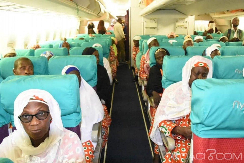 Côte d'Ivoire : HADJ 2019, les premiers pèlerins ivoiriens se sont envolés pour la Mecque