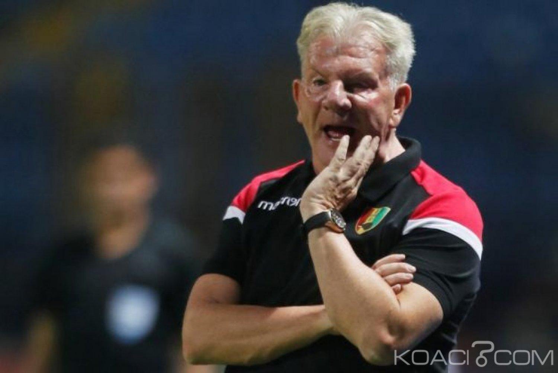 Guinée: Le coach belge Paul Put  limogé après les résultats médiocres à la CAN