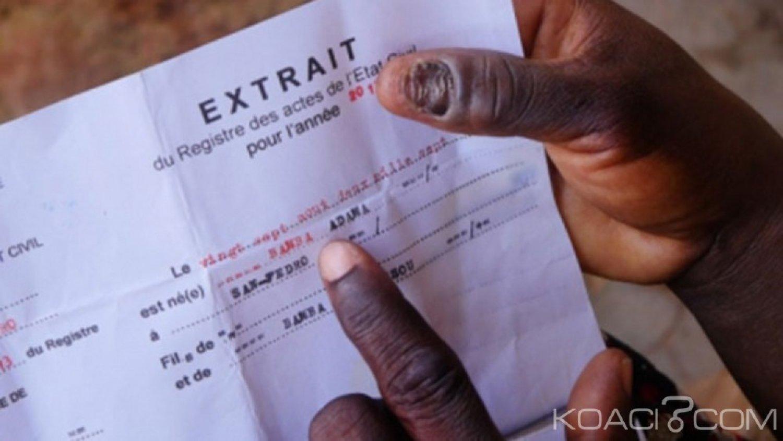 Côte d'Ivoire: Le  Ministre de la Justice relève les catégories de personnes concernées par la nouvelle loi sur l'état civil