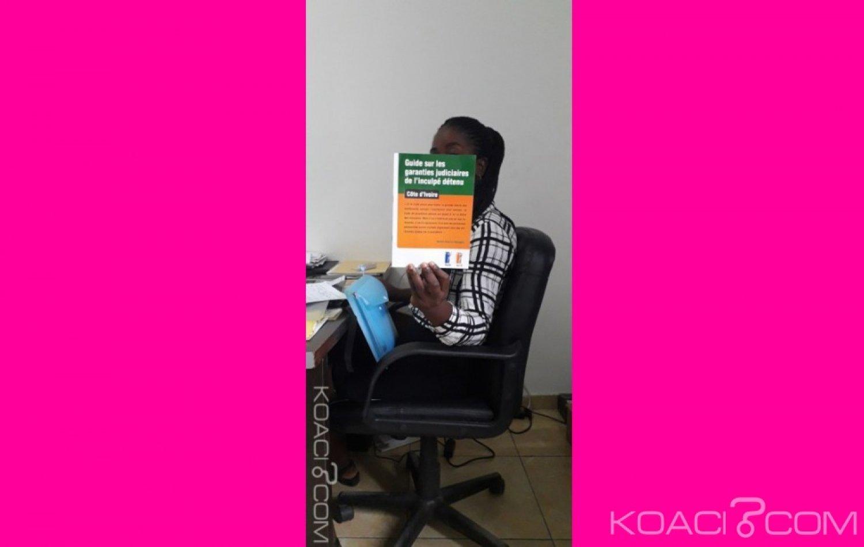 Côte d'Ivoire: L'inculpé détenu a son guide sur ses garanties judiciaires