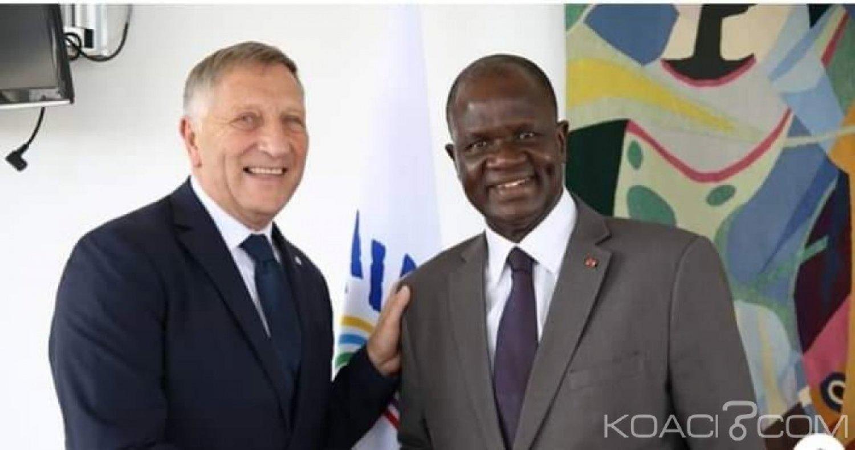Côte d'Ivoire : APF, après son élection, Soumahoro s'est entretenu à Paris avec le Secrétaire général de l'institution interparlementaire
